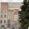 【カナダ】6日目-2 ケベックシティの巨大な壁画