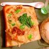 新じゃがと蟹の豆乳蕎麦粉グラタンパン