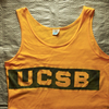 「BELTON」ボディの古着タンクトップをご紹介。UCSBプリントの1980年代ものと推定されます