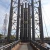 兵庫県尼崎市)出屋敷→北堀運河→であい橋→武庫川。工場地帯。