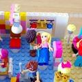 レゴで作った美容院