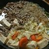 【キャベツすき焼き】〆は雑炊。