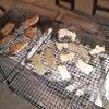 バーベキューしました~!やはり外で食べる肉や酒はおいしいですな!