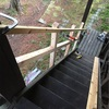 別荘 階段手摺り製作⑤