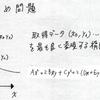 最適化計算2 楕円の当てはめ 理論編