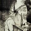 アートギャラリー環で古茂田杏子展を見る