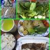 17/01/27の晩ご飯(鯛のバター塩焼き)