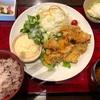 今日のランチは大阪で食べたチキン南蛮定食\(^o^)/