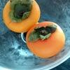 柿を食べました。