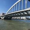 水上バスで浜松町から浅草へ~月島「ばくてん」でもんじゃを!