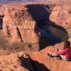 【命がけの写真撮影】アリゾナ州人気スポットのホースシューベンドへ行ってきた〜2020年12月〜