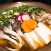 江西区の有名居酒屋 다케で牛肉もつ鍋!