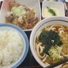 【山田うどん】埼玉ローカルのうどんチェーン店。どこか懐かしいコシのないうどんを楽しもう【パンチ定食 Aセット】