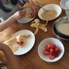 GW1日目は米粉でクレープ。自分で時間を作る。