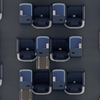 ANAビジネスクラス特典航空券 夫婦でヨーロッパ スタッガードシート、夫婦の席はどこにする?