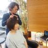 よさこいで汗をかいてもいい髪型に、レイヤーカットで髪の毛を流す!!