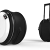 おしゃれな丸形スーツケース「スネイル」