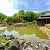 西山の里桃源の池(茨城県常陸太田)