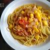 安納芋のトマトスープスパゲッティ