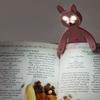 3日間連続点灯が可能!かわいい動物のブックライト「ライトマン アニマルズ」