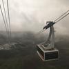 那須塩原2霧に包まれたロープウェイ