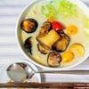 今日のランチ麺♬ 『焼き野菜のミルクとんこつラーメン』