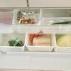 【冷蔵庫の収納】100円ショップのアイテムで冷蔵庫の野菜室がすっきり。
