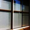 年末の窓掃除