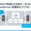 楽楽精算APIから定期的に仕訳CSV出力・One Driveにアップロードを行うフローを作成:ArcESB