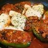 【1食186円】チーズonピーマン肉詰めの自炊レシピ