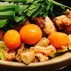 錦糸町のちゃんこ鍋屋「鳥義」で鶏もつなべ