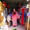 神の島の海で琉装体験!紅型衣装で 撮影しました!