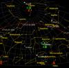 今日の夕方、国際宇宙ステーションがよく見えます