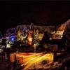 カッパドキアの夜景と早朝の景色