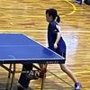 三重県卓球 小中学生強化試合