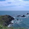 襟裳岬 碧海の道路