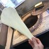 湊川商店街の楽しみは新鮮な食材と、やっぱりインド亭のカレー&ナン。