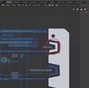 SFチックのUIを作る その⑪ ~E.F.S.F.コックピット風UIパネルを作る~