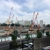 新・国立競技場の建設予定地を見に行ってきました(^o^)