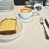 経堂の「CHEZ RONA(シェ・ロナ)」でブランデーケーキ、カフェラテ。
