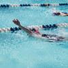 ヨガと初級背泳ぎ