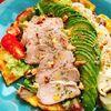 【低糖質ピザ】卵とチーズのサラダピザ(動画レシピ)/Salad pizza with omelette.