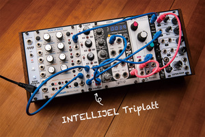 今月のモジュラー・シンセ:INTELLIJEL Triplatt 〜第8回 Patch The World For Peace