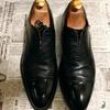 【激安靴磨き】100均靴磨き用品だけで、中古の革靴を磨いて見ると驚きの結果に...!!
