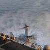 ダウンウォッシュで墜落するオスプレイ - こんな米軍機をありがたがるのは日本政府だけ