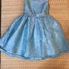 子供の発表会用~子供用ドレス・スクエアネックオーガンジードレス を購入♪安いのにしっかりしていてカワイイ♪