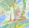 Leaflet地図:「日本シームレス地質図 V2」をオーバーレイ。サンプルソース。