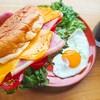 塩パンで作るチェダーチーズと生ハムのパニーニの作り方【イタリアサンドイッチレシピ】