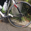 ロードバイク トレーニング用タイヤ交換とチューブ交換とライト交換実施