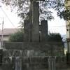 「石塘堰改築記念碑」